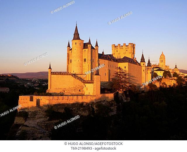 Alcazar of Segovia. Segovia. Spain