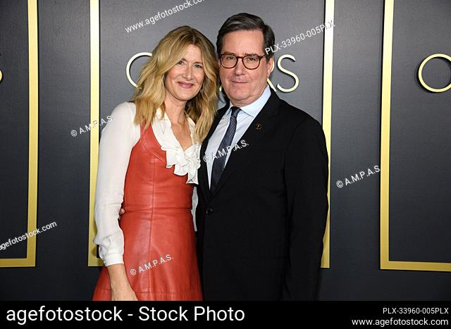 Oscar® nominee Laura Dern with Academy President David Rubin at the Oscar Nominee Luncheon held at the Ray Dolby Ballroom, Monday, January 27, 2020