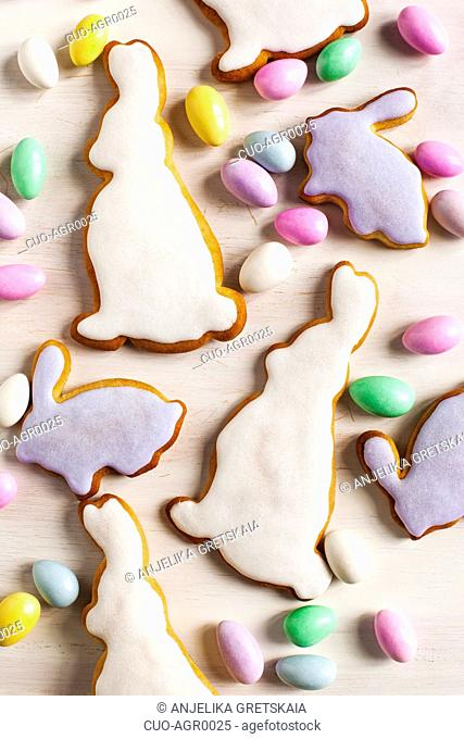 Traditional Easter cookies