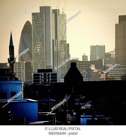 London skyline, England, UK