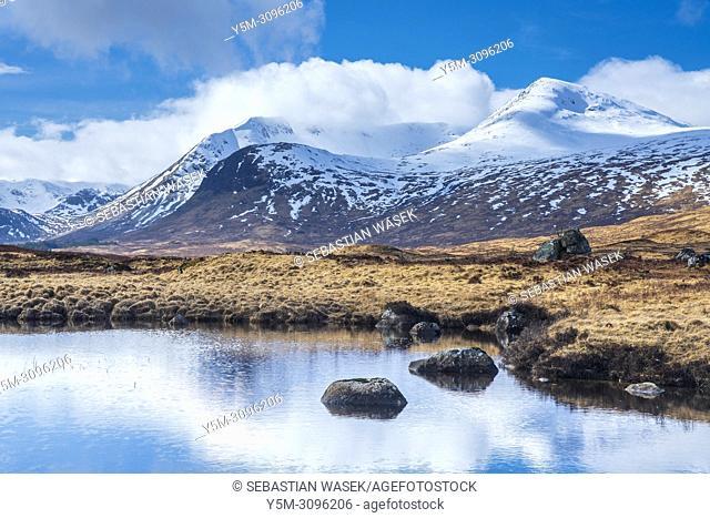 Rannoch Moor, Argyll and Bute, Scotland, United Kingdom, Europe