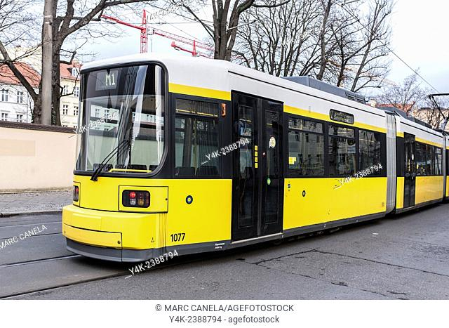 Europe, Germany, Berlin, Tram, Trolley, streetcar, tramcar