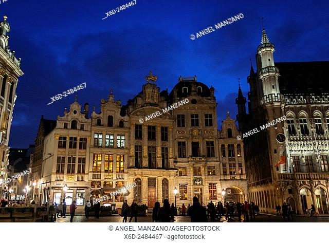 Grand Place or Groote Mark, Brussels
