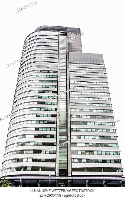 Modern architecture at Kop van Zuid in Rotterdam, the Netherlands, Europe