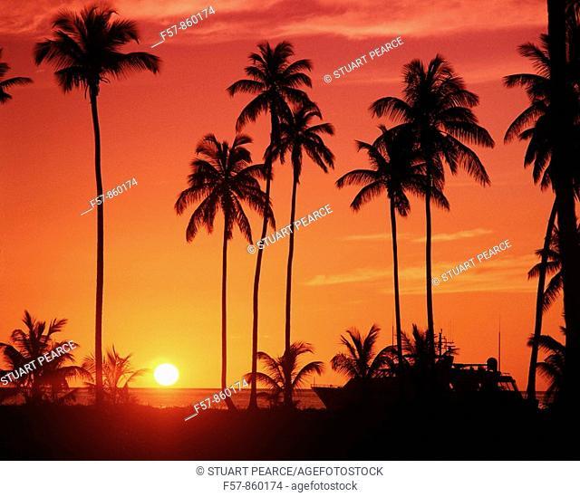 Pinney's Beach, Nevis, West Indies