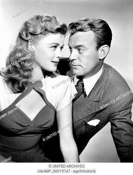 Hilfe, ich bin Millionaer, (BREWSTER'S MILLIONS) USA 1945 s/w, Regie: Allan Dwan, HELEN WALKER, DENNIS O'KEEFE, Key: Paar