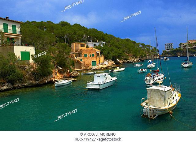 Mallorca, Cala Figuera, Santanyi, Majorca, Balearic Islands, Spain, Europe