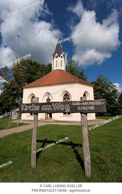 Church at Dannenwalde, Gransee, Oberhavel district, Brandenburg, Germany / Patronatskirche in Dannenwalde, Gransee, Landkreis Oberhavel, Brandenburg