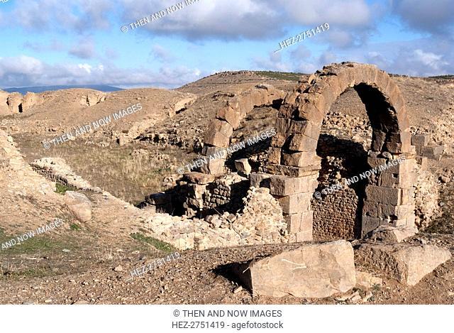 Algeria, Lambaesis, Amphitheatre