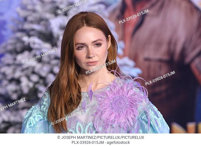 """Karen Gillan at Sony Pictures' """"""""Jumanji: The Next Level"""""""" World Premiere held at the TCL Chinese Theater in Hollywood, CA, December 9, 2019"""