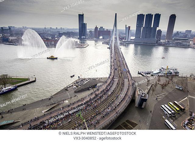ROTTERDAM - The international marathon of Rotterdam