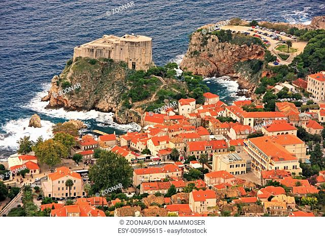 St. Lawrence Fortress and Old city of Dubrovnik