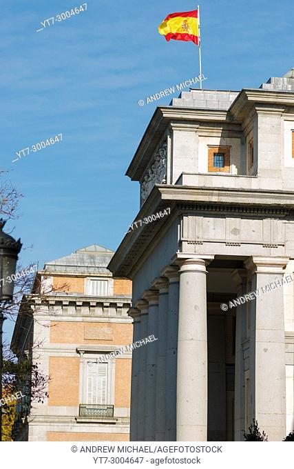 Madrid, Spain. El Prado museum