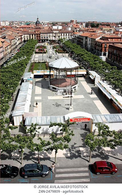 Main Square, Alcala de Henares, Spain