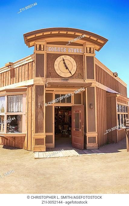 The Corner store at the Old Tucson Film Studios amusement park in Arizona