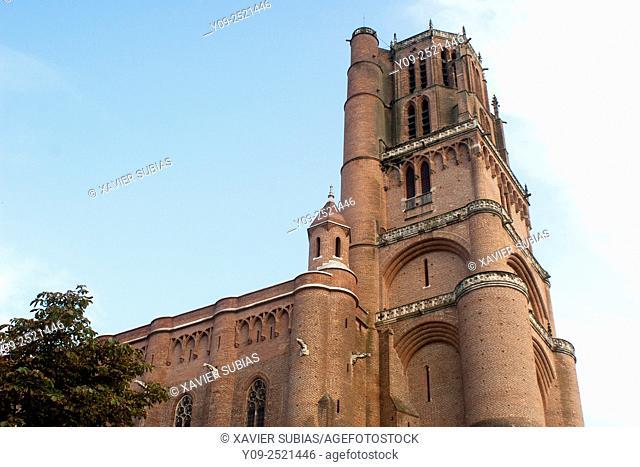 Sainte-Cécile Cathedral, Albi,Tarn, Midi-Pyrénees, France