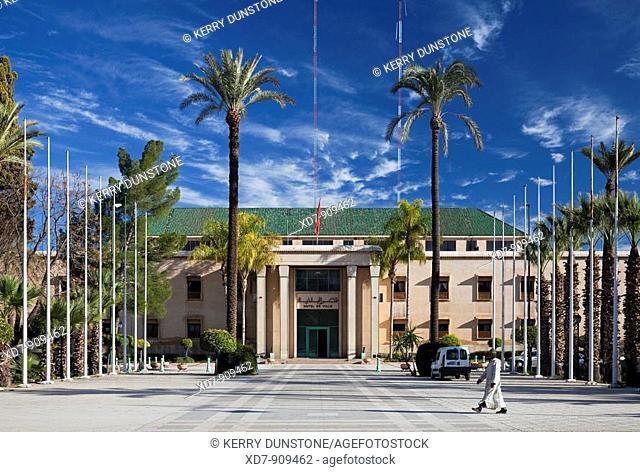 Morocco Marrakesh Town Hall (Hôtel de ville)