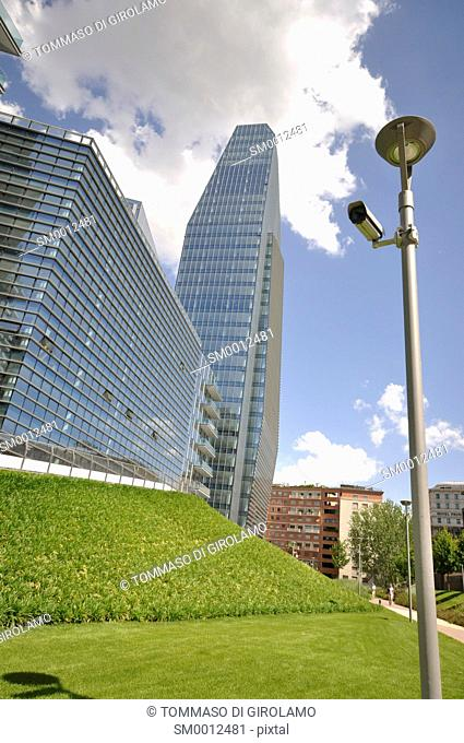 Italy, Milan, new building, Garibaldi area