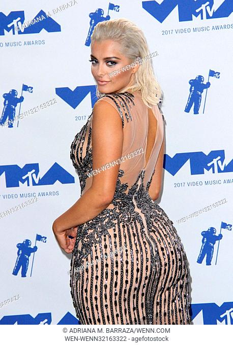 MTV Video Music Awards (VMA) 2017 Press Room held at the Forum in Inglewood, California. Featuring: Bebe Rexha Where: Los Angeles, California