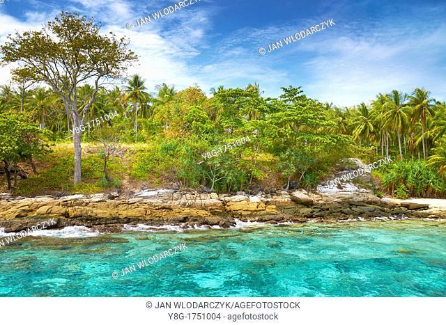 Thailand - Krabi province, Phang Nga Bay, small island