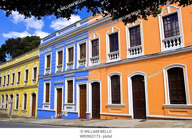 Traditional Architecture, Candelaria, Bogota, Cundinamarca, Colombia