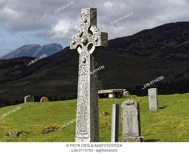 Old cementery. Isle of Skye. Scotland