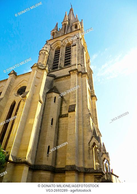 St. Anne's church, Montpellier. Herault, Languedoc-Roussillon, France