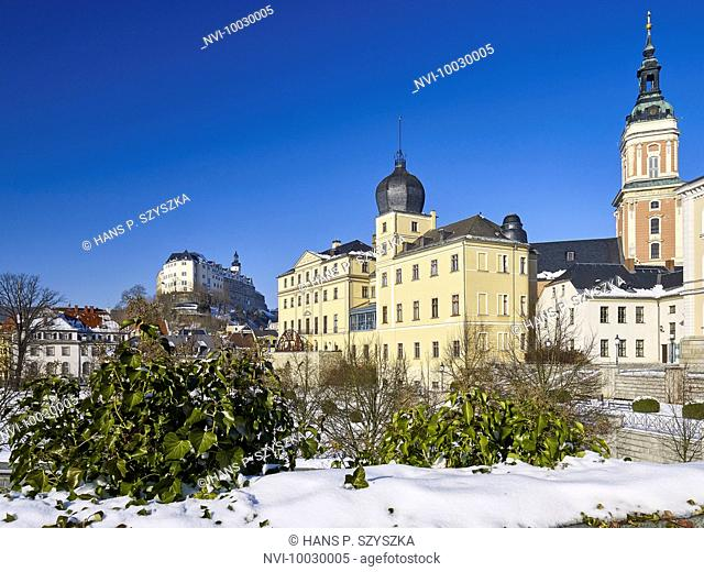 Upper and Lower Castle and City Church of St. Marien, Greiz, Thuringia