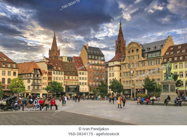 Place Kleber, Strasbourg, Grand Est, France