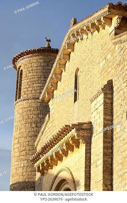 Frómista, Spain: San Martín de Tours de Frómista. The church was designated a National Monument in 1894. It is one of the purest examples of Spanish Romanesque...