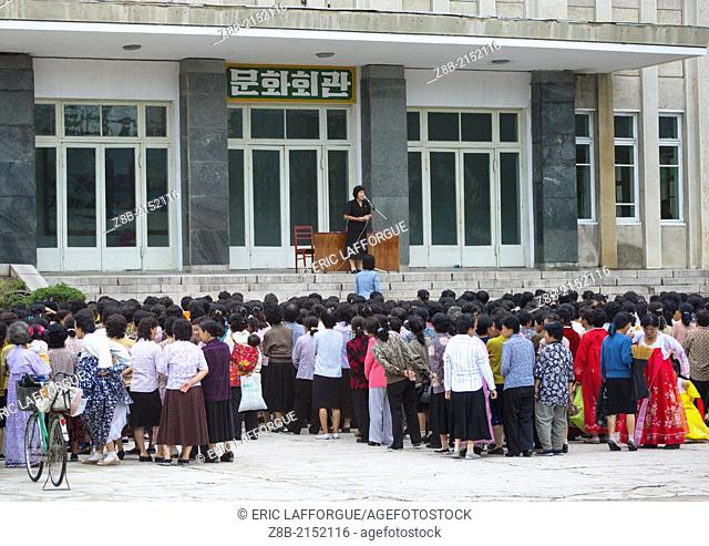 Women Meeting, Kaesong, north Korea
