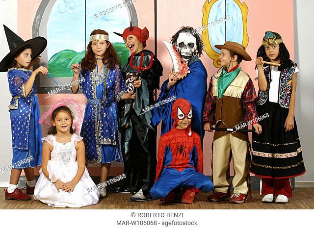 children, school play