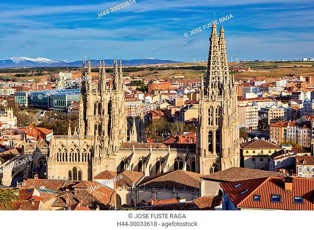Spain, Burgos City, Burgos Cathedral (W.H.)