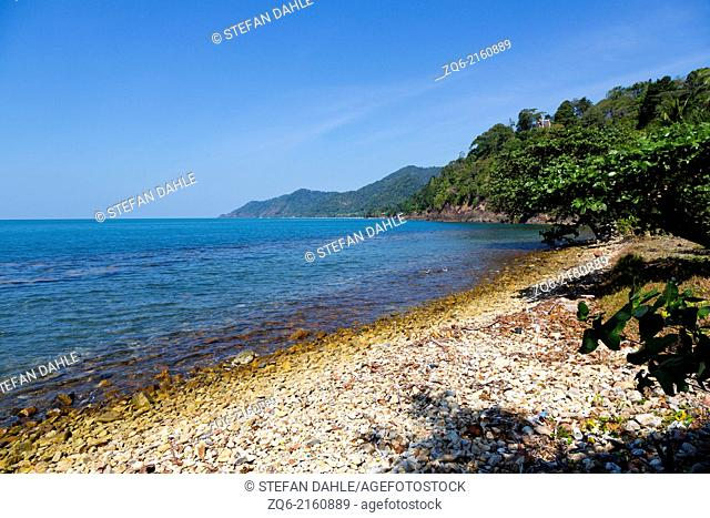 Chai Chet Beach on Ko Chang, Thailand