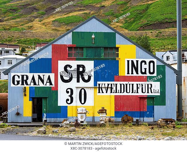 Sildarminjasafn Islands, the Herring Era Museum in Siglufjoerdur. europe, northern europe, iceland, september