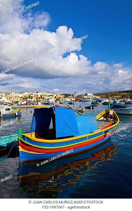 Marsaxlokk Fishing Village, Malta Island, Malta, Europe
