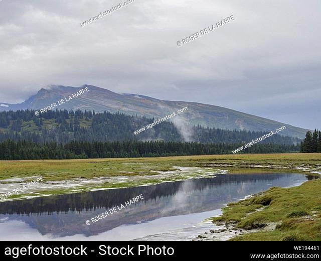 Scenic view. South Central Alaska. United States of America (USA)