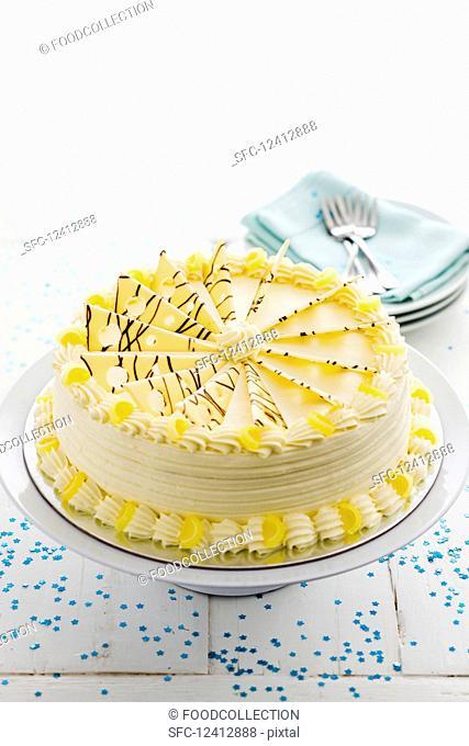 Torta Di Limoncello (lemon torte, Italy) for Christmas