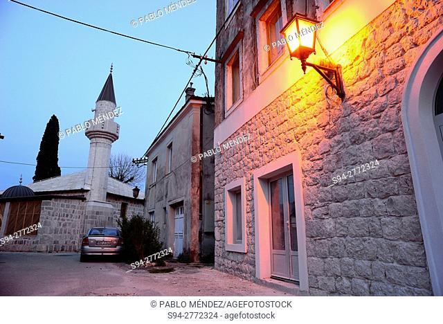 Osman mosque of Trebinje, Bosnia and Herzegovina