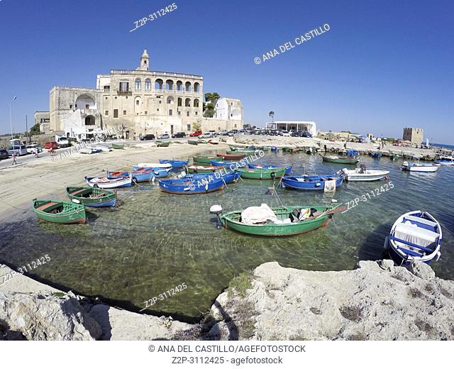 St Vito abbey Polignano a Mare Puglia Italy