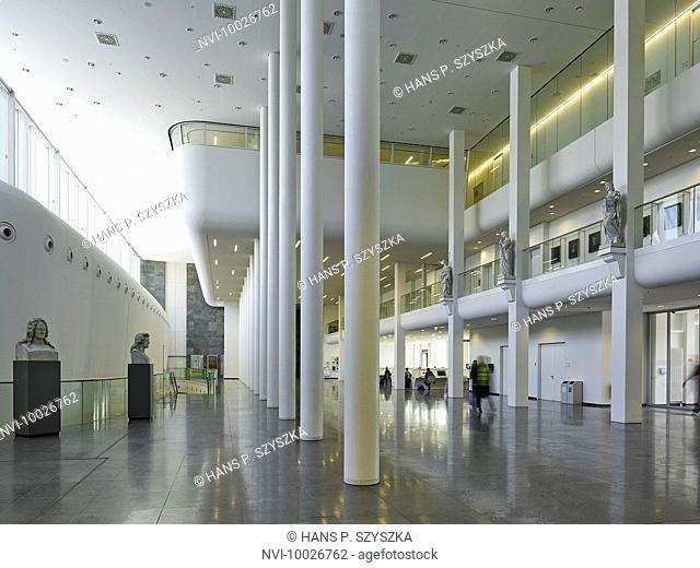 New Augusteum of Leipzig University, Saxony, Germany