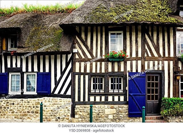architecture of Normandy, France