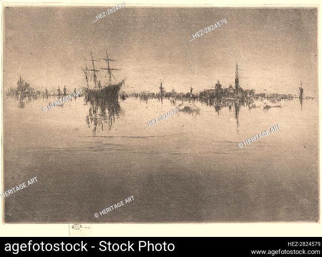 Nocturne, 1879/1880. Creator: James Abbott McNeill Whistler