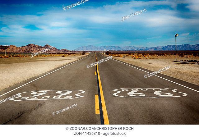 Die legendäre Route 66 in Kalifornien