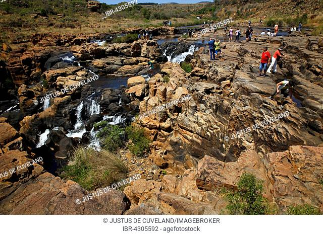 Bourke's Luck Potholes, Blyde River Canyon, Panorama Route, Mpumalanga Province, South Africa