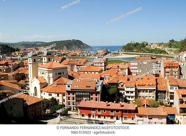 Ribadesella. Asturias, Spain