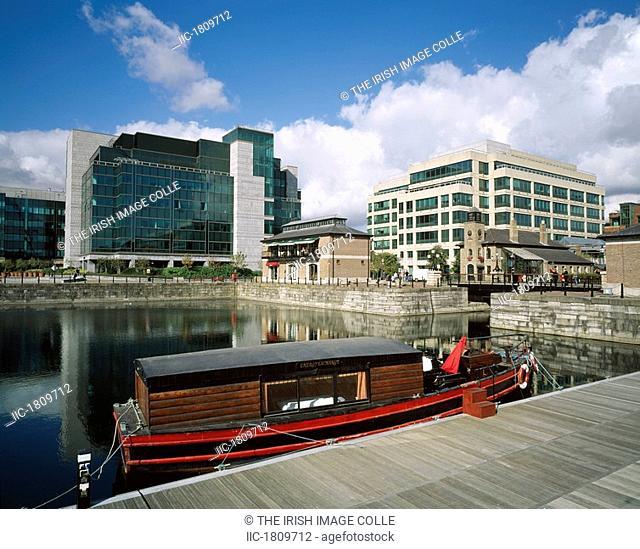 International Financial Services Centre IFSC, Dublin City, Ireland