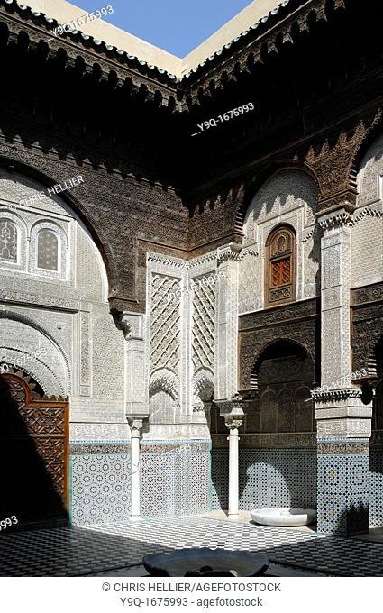 Attarine Medersa 1323-25 Medina Fez Morocco