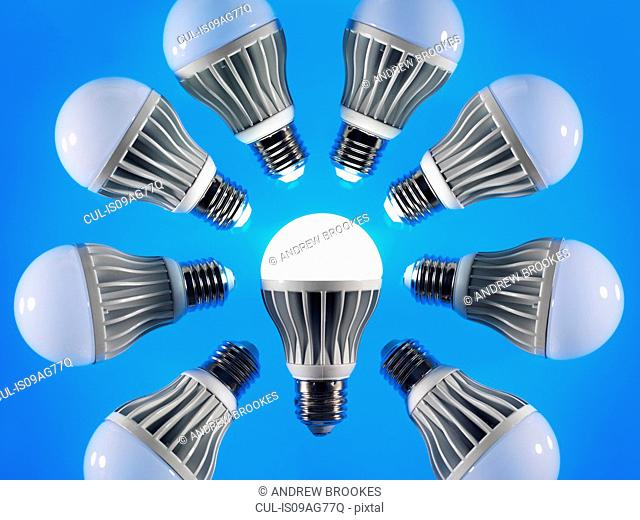 Energy saving LED lightbulbs