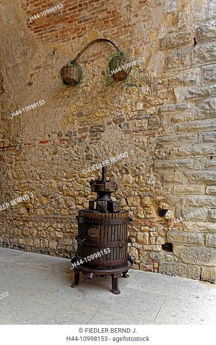 Porta Verona, wine press, historical